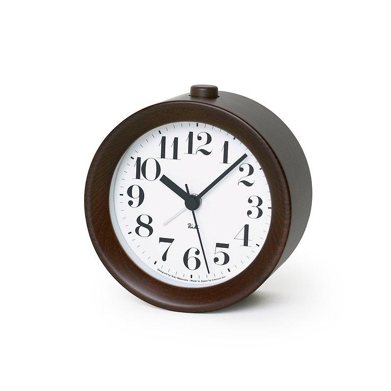 Lemnos Riki Alarm 鬧鐘 - 咖啡 渡邊力設計