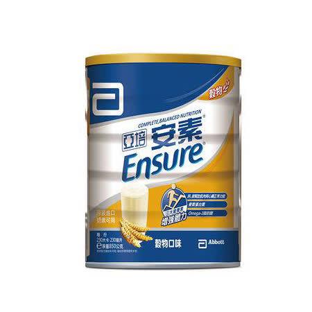 亞培 安素優能基均衡營養配方穀物口味 1罐850g