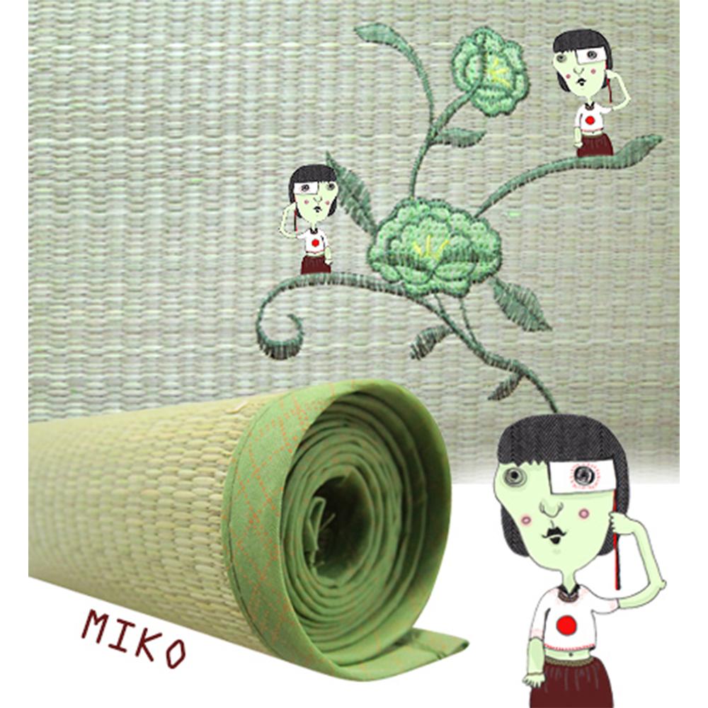 miko藺草蓆 3x6尺 - 單人藺草蓆/藺草蓆/涼蓆/竹蓆/竹片墊/竹蓆墊