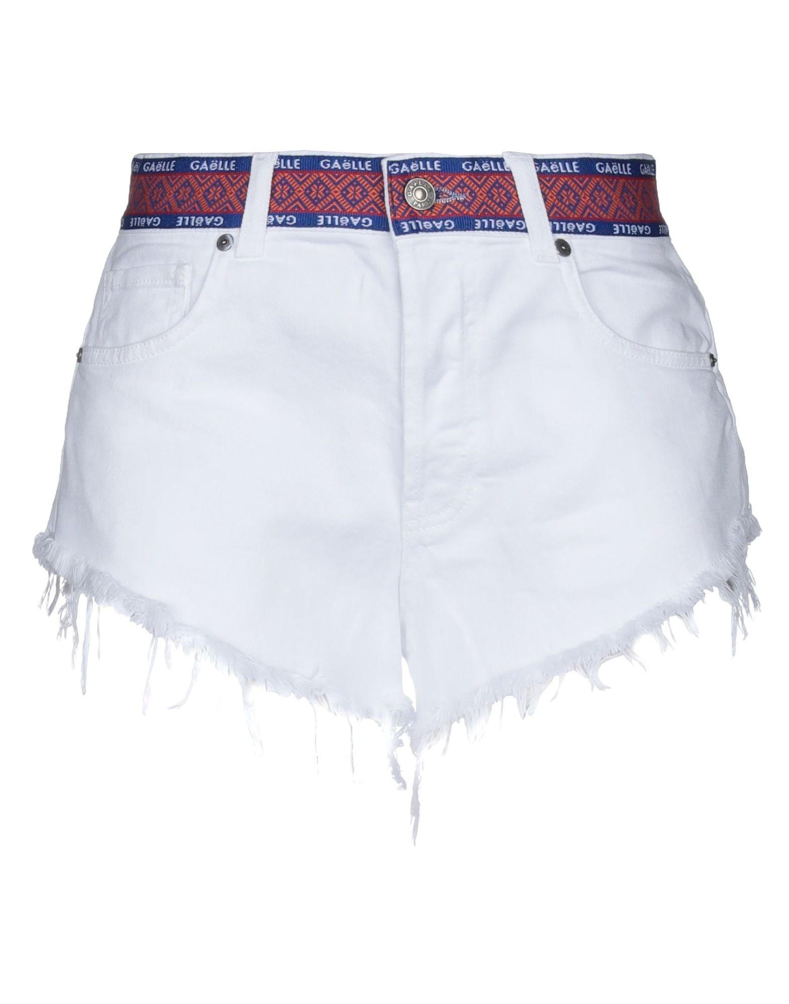 GAëLLE Paris Denim shorts - Item 42780801