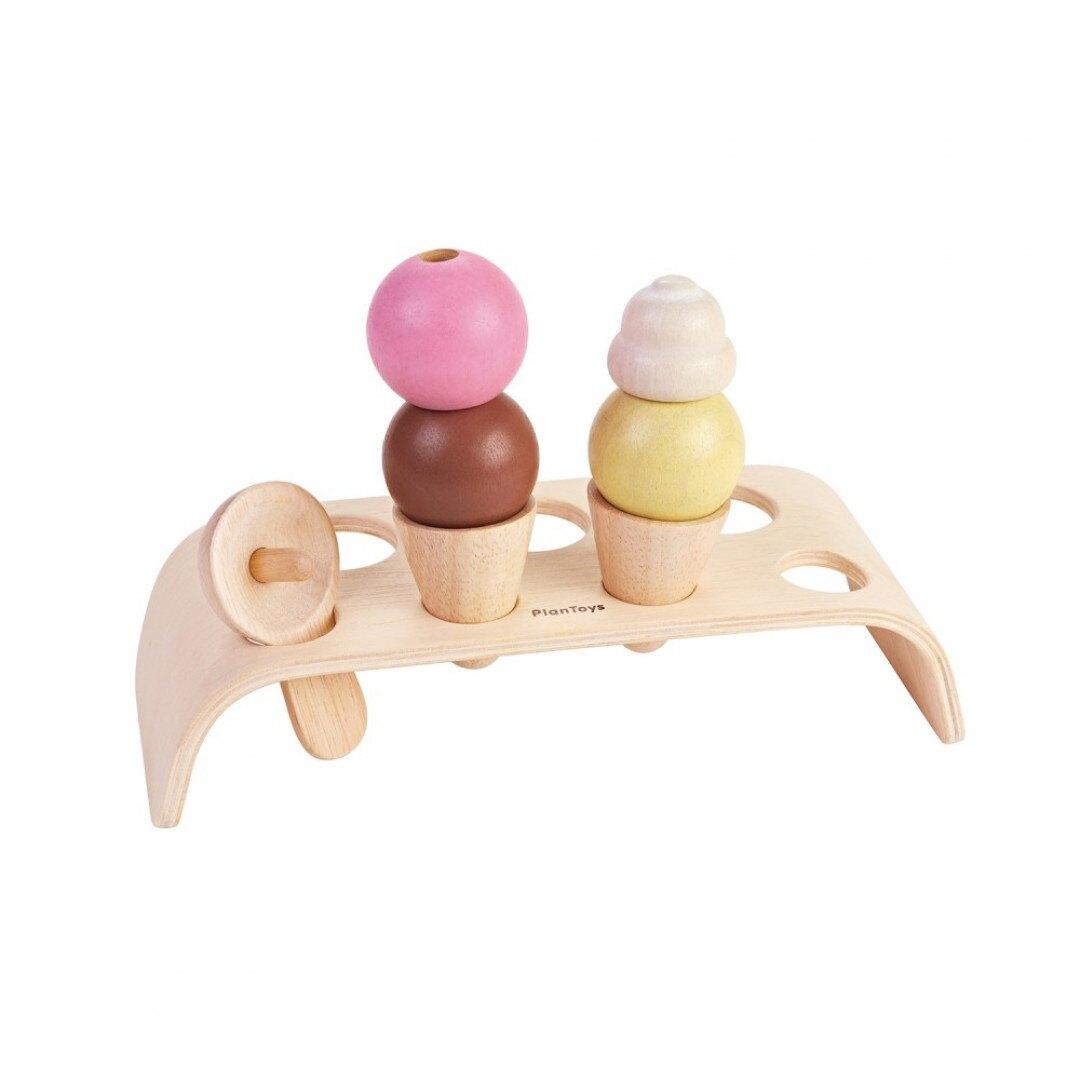 《  PLAN TOYS 》木製  小主廚-冰淇淋組 東喬精品百貨