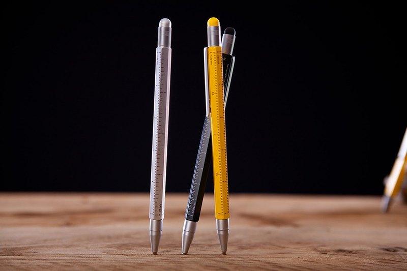 客製化雷射刻印觸控製圖自動鉛筆(黑色)