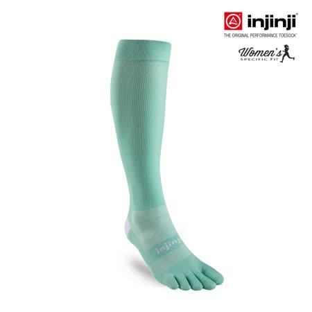【INJINJI】女舒柔反光透氣五趾壓力襪[綠玉]壓力襪│IN171NAA5242