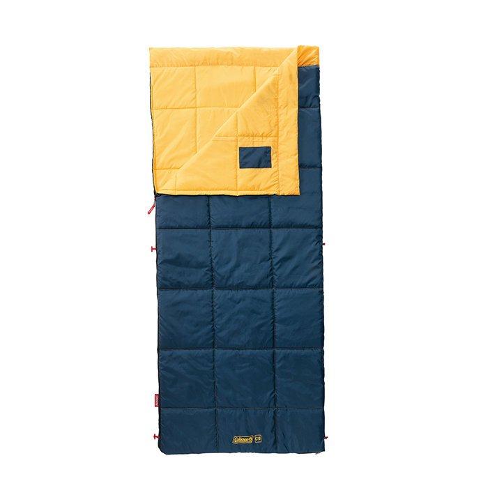 Coleman 表演者III 全開式夾克型黃睡袋 C10 CM-34775