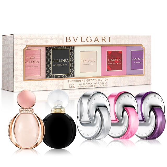 Bvlgari寶格麗 女性小香禮盒(5mlX5入)