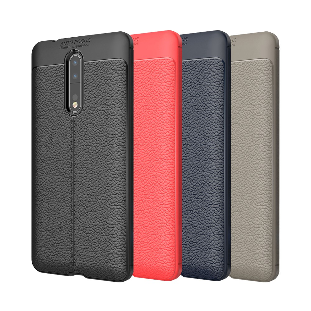 Nokia 6 6.1 7 Plus 8.1 8 Sirocco 9 PureView 荔枝紋保護殼皮革紋造型超薄手機殼