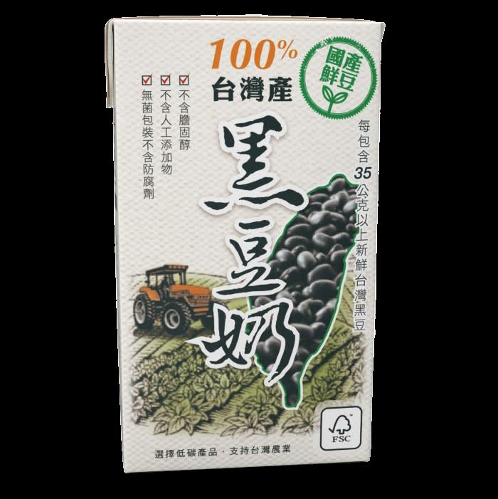 產銷履歷國產豆奶 黑豆微糖 250ml - 吉屋商行geo all