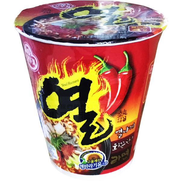 韓國不倒翁(OTTOGI) 辛辣杯麵(62g)