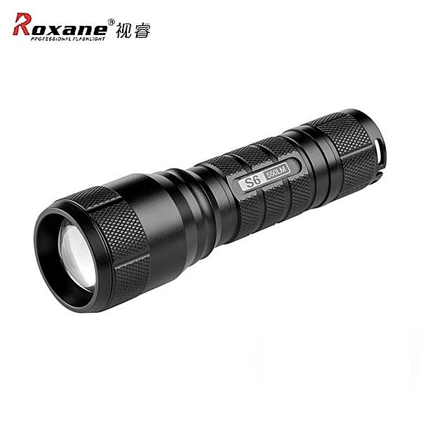 又敗家Roxane視睿Cree XPL2 V4防水攝影補光強光手電筒組S6無級變焦1175流明/三菱PMMA平凸光學透鏡