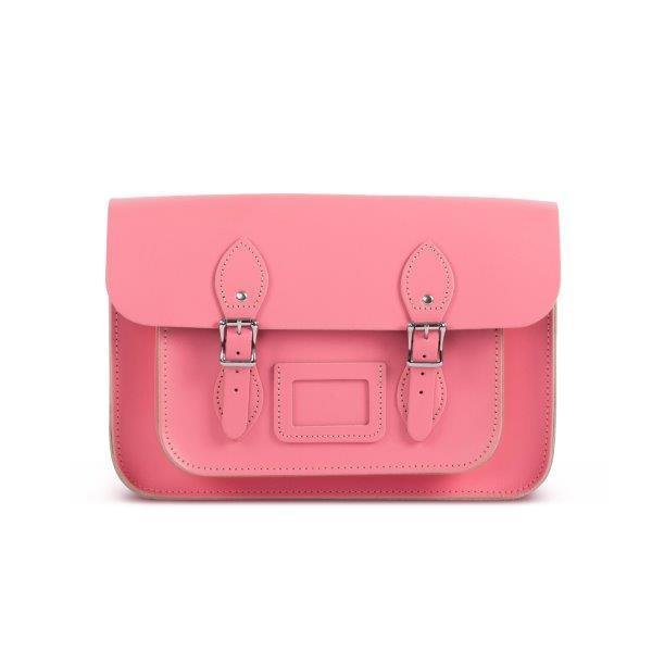 Gweniss 格温妮丝 Charlotte 剑桥包 - Pastel Pink - 11英寸