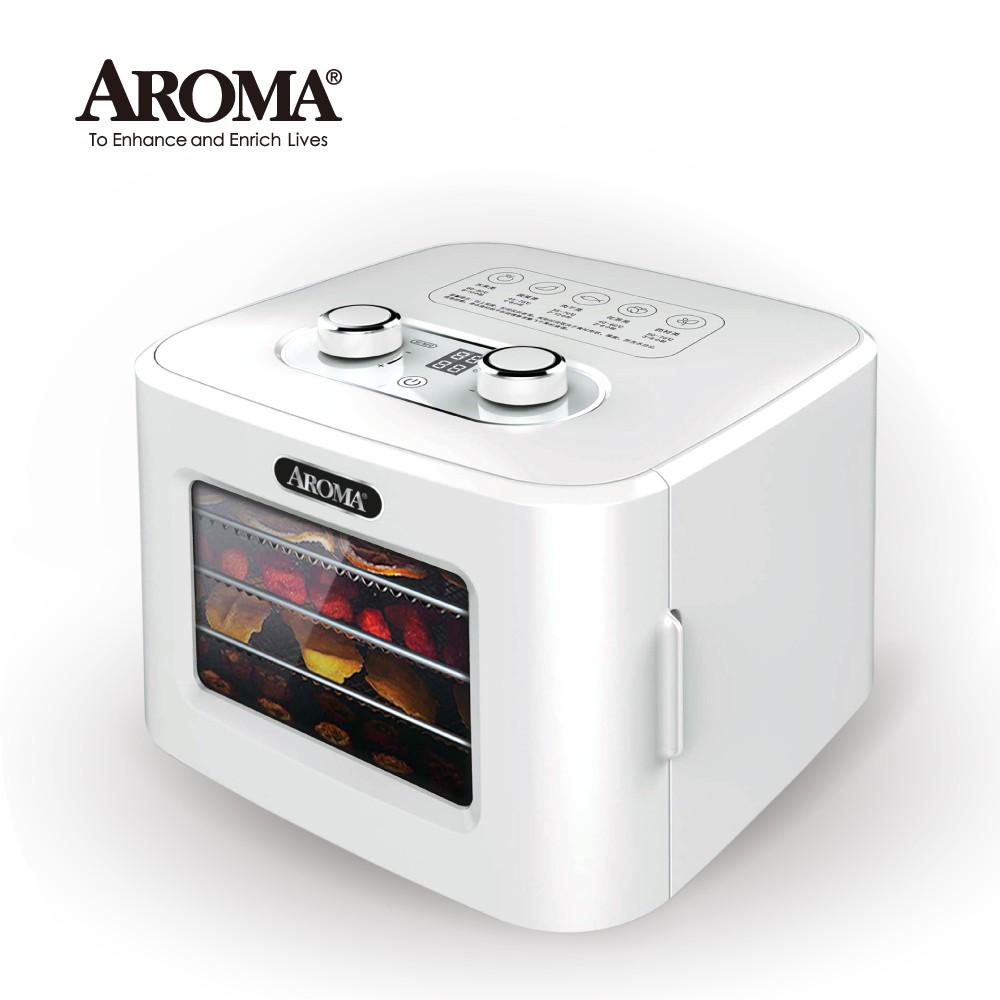 【附彩色食譜】美國 AROMA 四層溫控乾果機 果乾機 食物乾燥機 烘乾機 附彩色食譜 AFD-310A