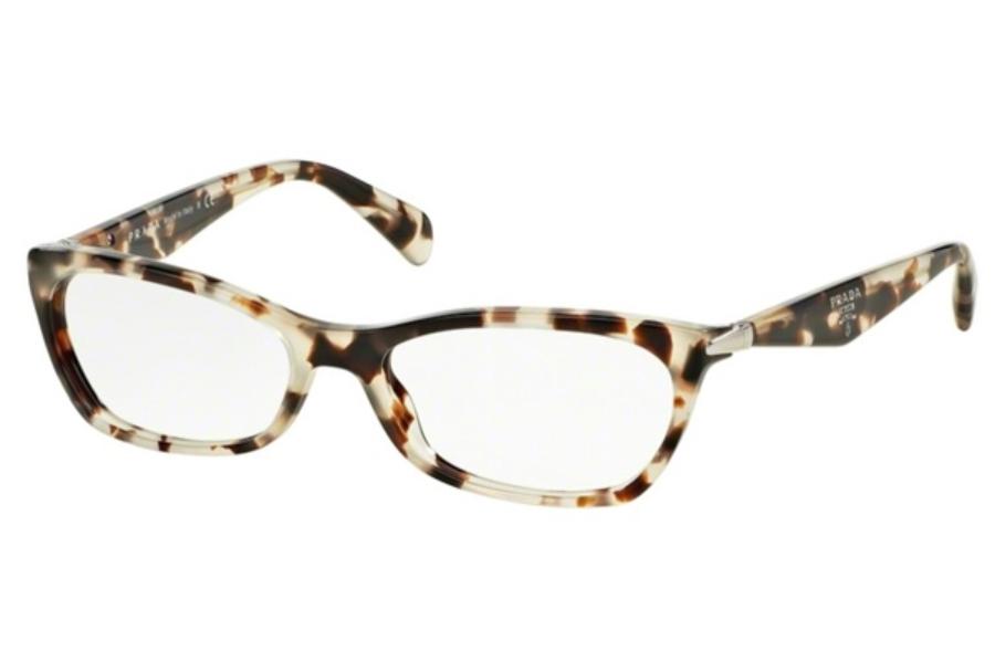 普拉达 Prada 'Swing' 眼镜 UA0101- Beige/Black