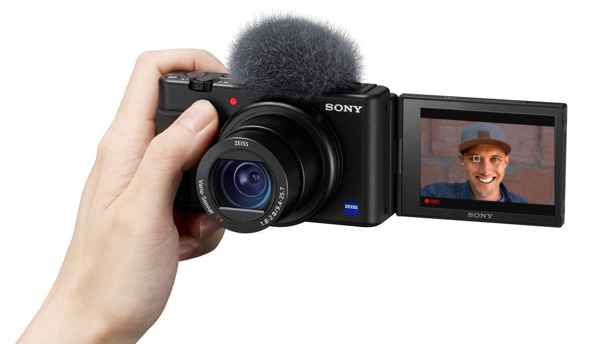 【新博攝影】ZV-1 側翻螢幕4K高畫質相機 (台灣索尼公司貨)