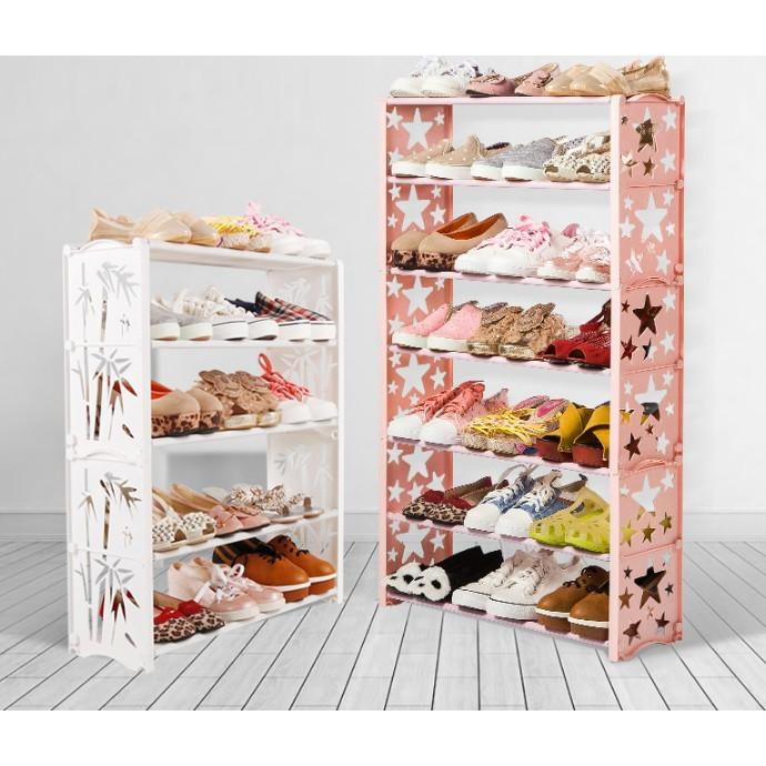 現代簡約簡易防塵鞋架 置物架 多層鞋櫃 簡約現代家用 經濟型鞋架子宿舍 拖鞋架 小鞋櫃 - 九層