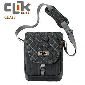 美國【CLIK ELITE】CE733 SCHULTER 經典單肩攝影側背包 可放1機1鏡1閃等配件