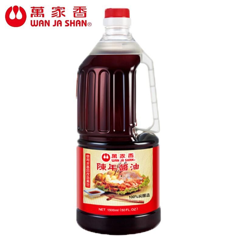 萬家香 陳年醬油1500ml/組合購
