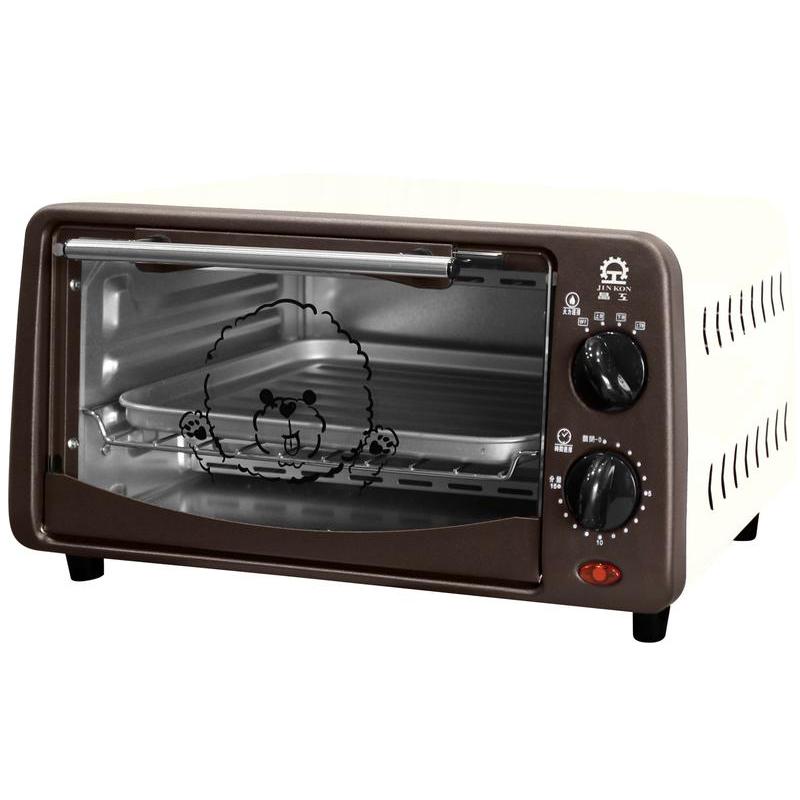 【晶工牌9L雙旋鈕電烤箱】大容量烤箱 烘焙烤箱 家用烤箱 營業用烤箱 烤箱 小烤箱【AB574】