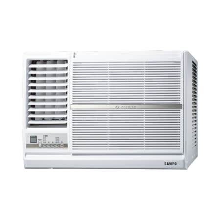 (含標準安裝)【SAMPO聲寶】變頻左吹窗型冷氣(4坪) AW-PC28DL