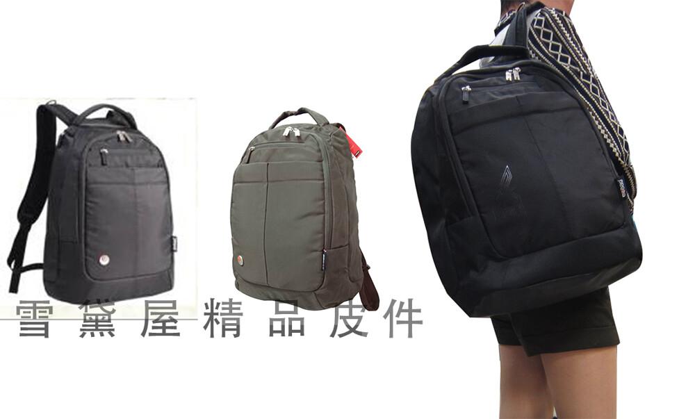 eebag 後背包大容量可a4資料夾16吋電腦主袋+外袋共四層胸前釦24l活動滑鼠墊防水尼龍布