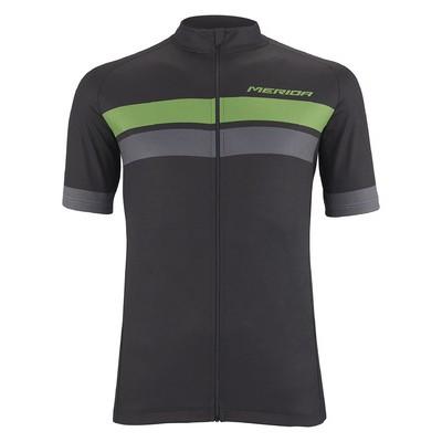 《MERIDA》美利達2019 GREEN STRIPE 短袖自行車衣-綠灰黑《新店美利達旗艦店》