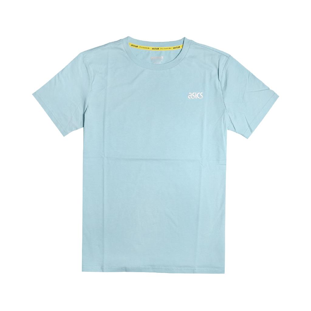 Asics 短袖T恤 JSY Tokyo SS T 1 水藍 白 男款 短T 東京 【ACS】 2191A226400