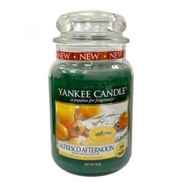 YANKEE CANDLE 香氛蠟燭 午後戶外 623g