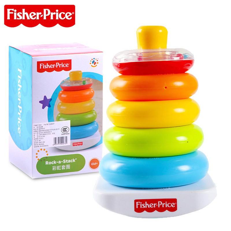 費雪 Fisher-Price 疊疊樂 彩虹套圈圈