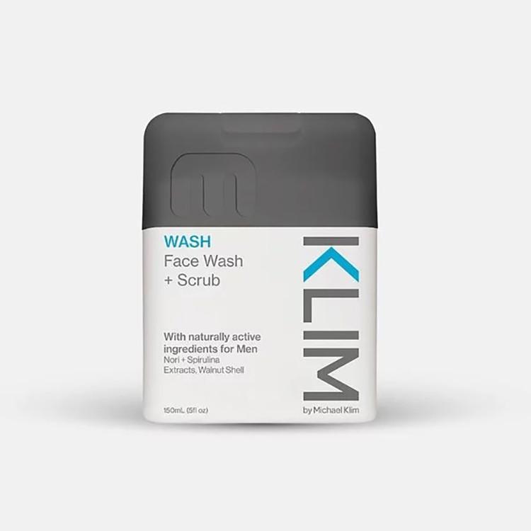 澳洲 Klim 男士深層潔淨去角質洗面乳 150ml