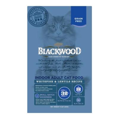 柏萊富 極鮮無穀室內成貓配方白鮭魚+扁豆1.82kg