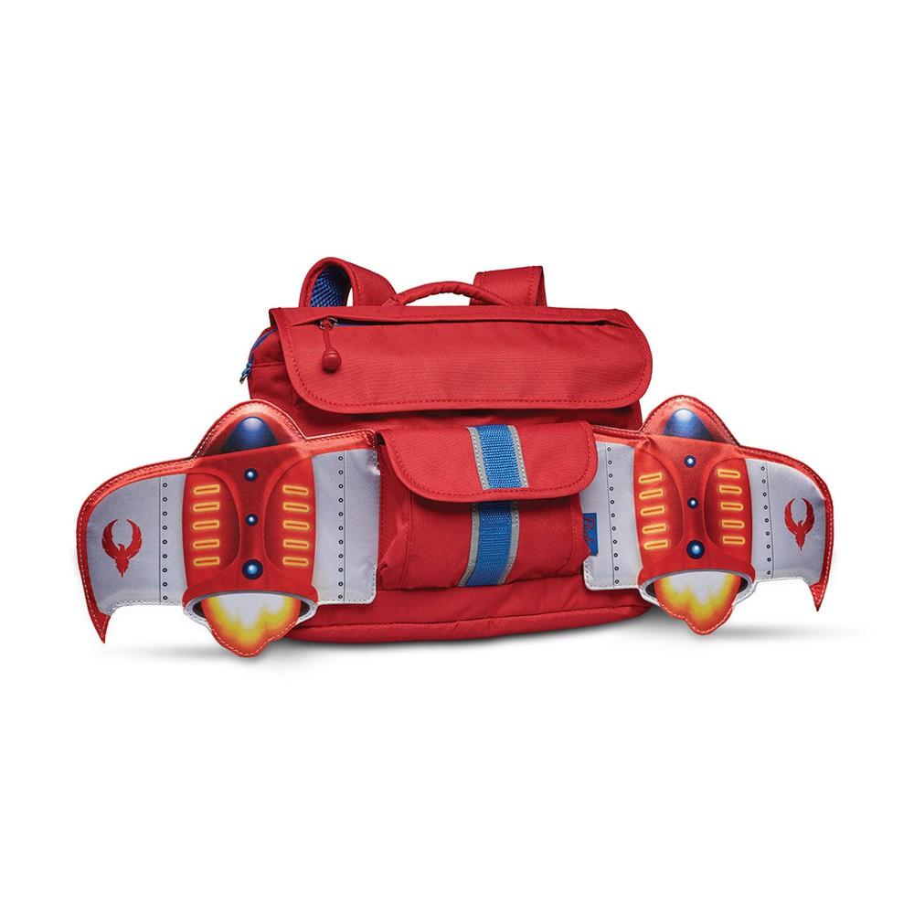 美國Bixbee飛飛童趣系列-火鳥紅噴射機小童背包