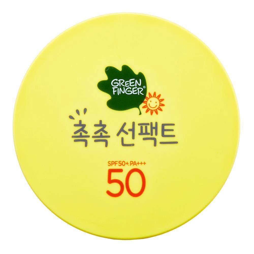 綠手指GreenFinger 幼兒滋潤防曬乳粉撲造型16g
