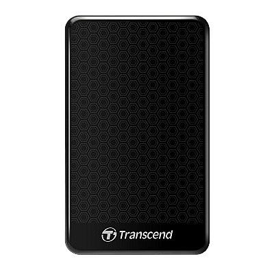 創見 StoreJet 25A3K 1TB 行動硬碟 (USB3.1) 黑