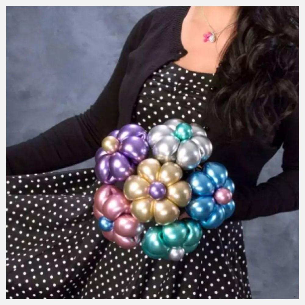 現貨q260 長條氣球 真珠面  金色 銀色 慶生 佈置 qualatex 260氣球快易送