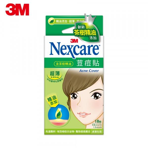 3M  Nexcare  荳痘隱形貼-茶樹精油 ETA018...