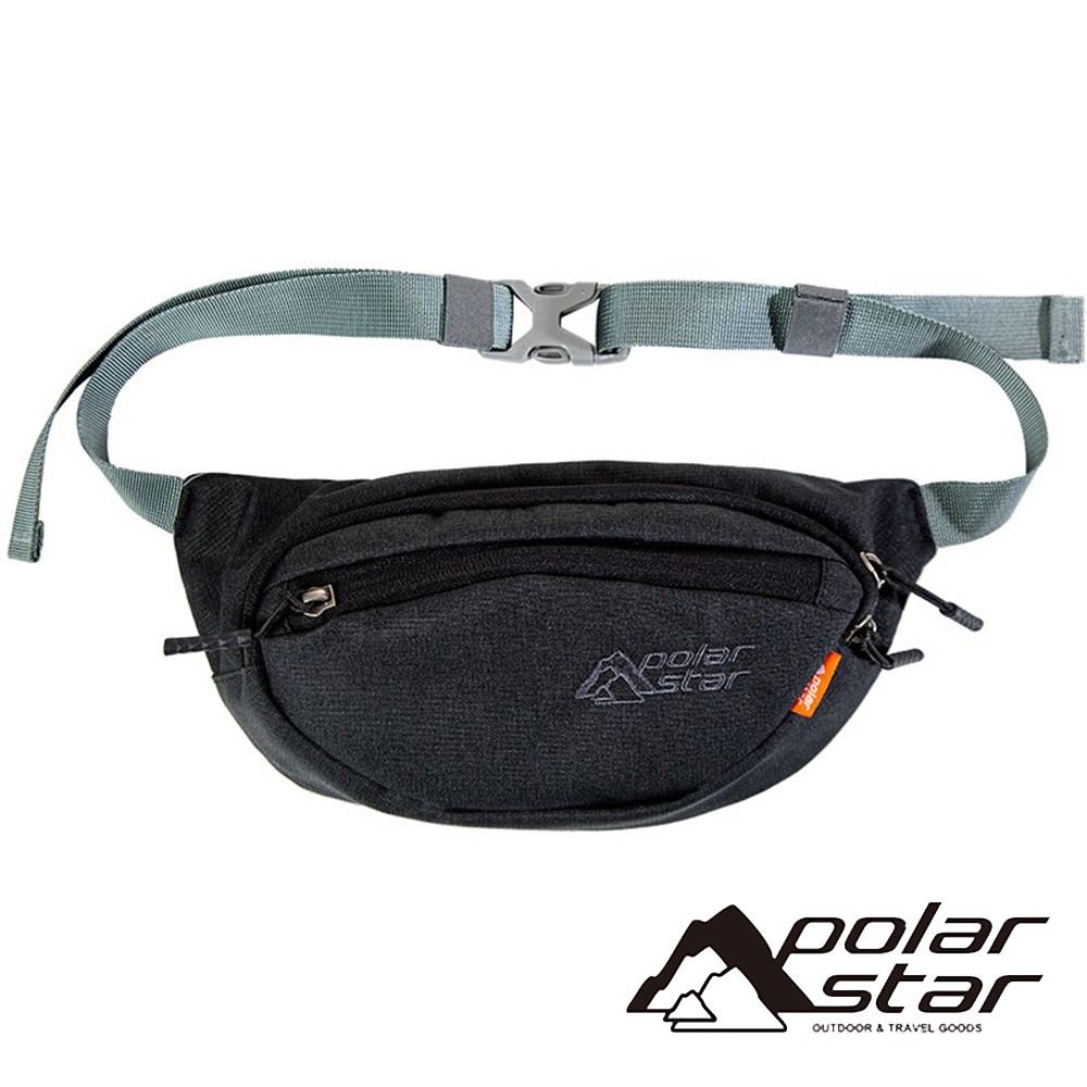 【PolarStar】個性側腰包『黑色』P20807