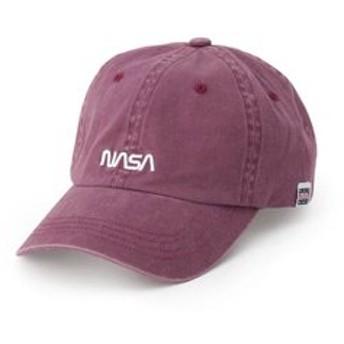 【SHOO・LA・RUE:帽子】【限定デザイン/数量限定】NASA洗いデニムキャップ
