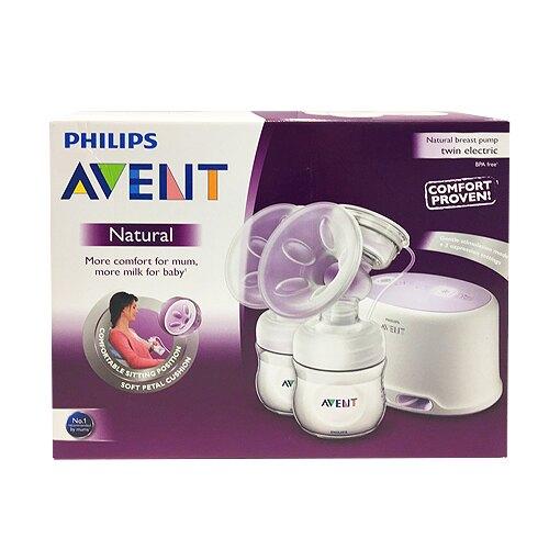 (原廠公司貨)PHILIPS-AVENT--輕乳感PP專業型雙邊電動吸乳器★衛立兒生活館★