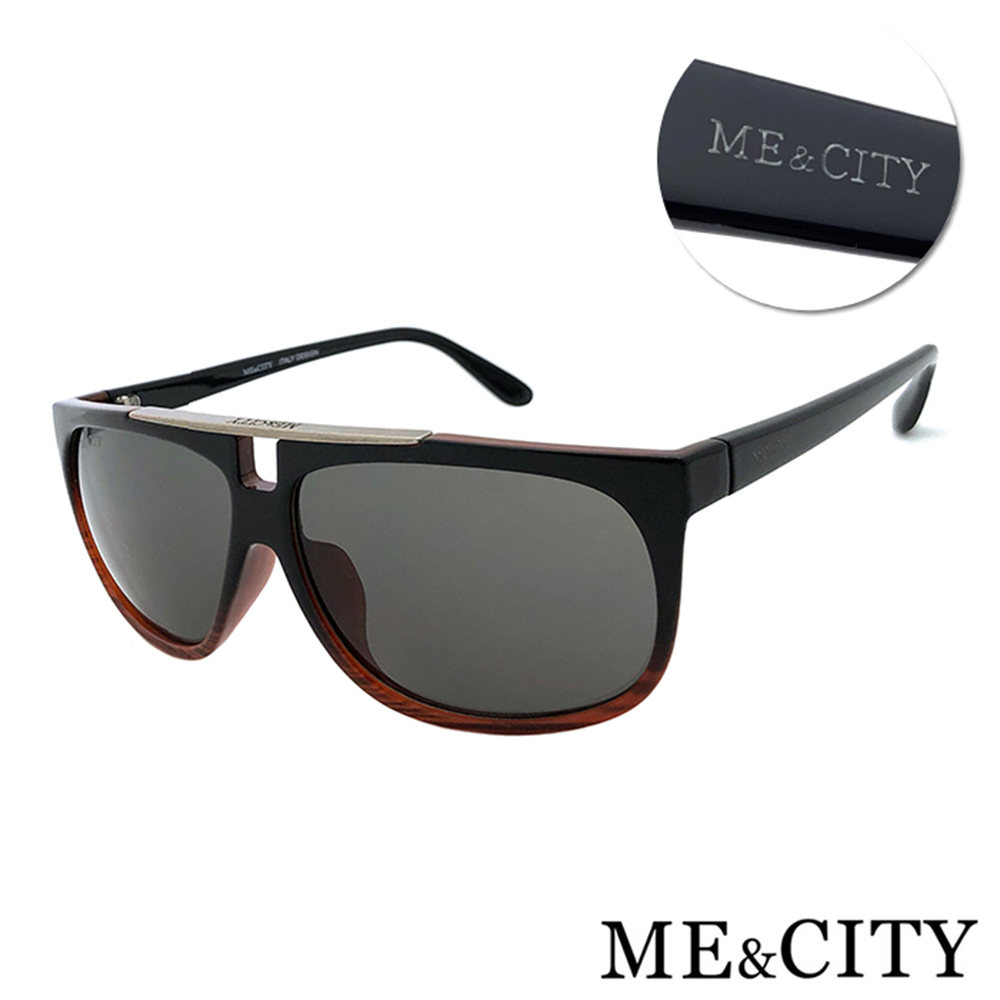 ME&CITY 飛行員款太陽眼鏡 抗UV400(ME110014 C50)