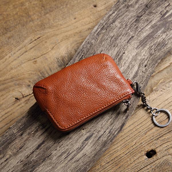 【Solomon原創設計皮件】虹恫 鑰匙零錢包
