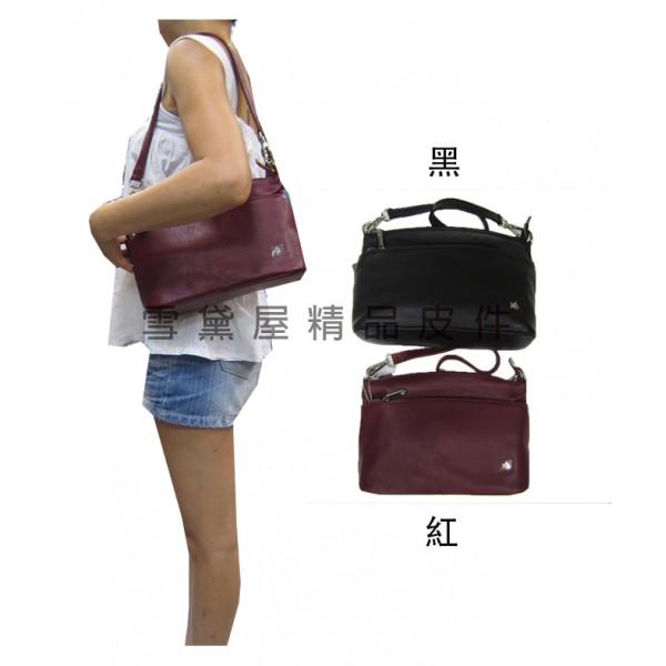 【ITALI DUCK】 斜背包中容量主袋+外袋共四層主袋內...