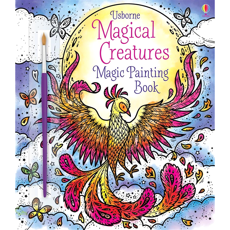 Magical Creatures Magic Painting Book【禮筑外文書店】[69折]