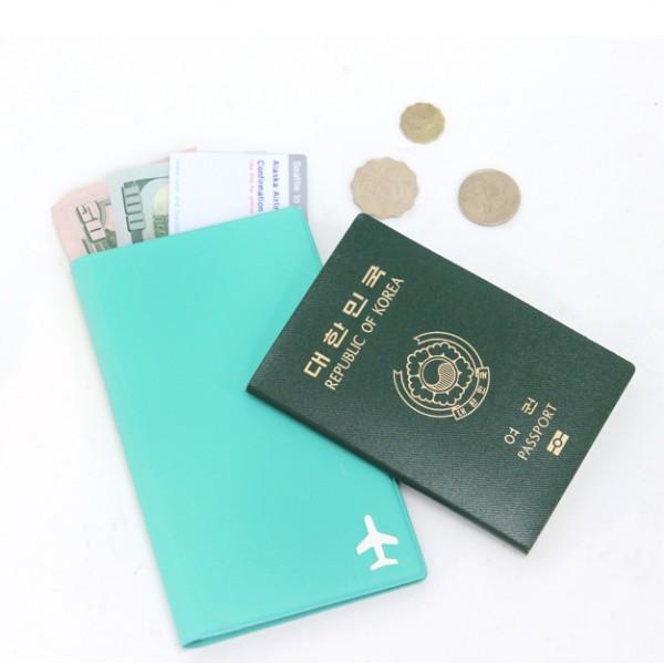 【FENICE】證件護照套-中 (蒂芬妮綠)