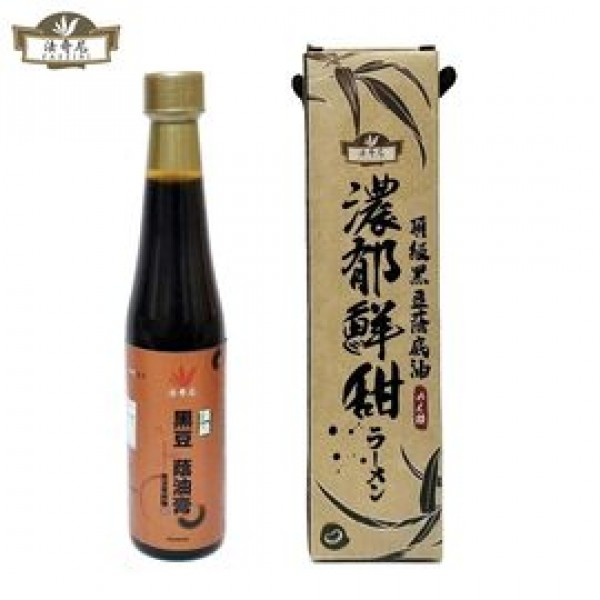 【法奇尼】頂級黑豆蔭底油醬油膏(420ml)
