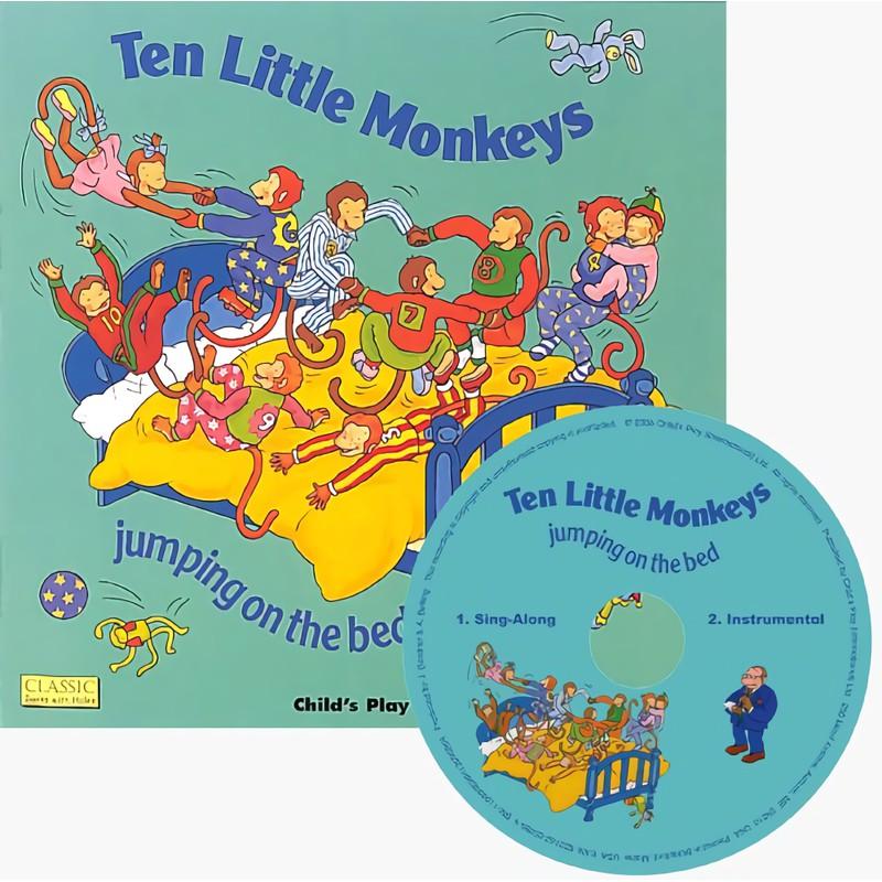 Ten Little Monkeys (+CD) 誠品eslite