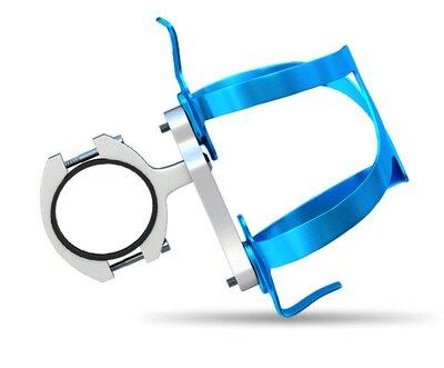 自行車水杯架 電動摩托車鋁合金水杯架山地自行車水瓶水壺支架隨意掛騎行裝備『MY3957』