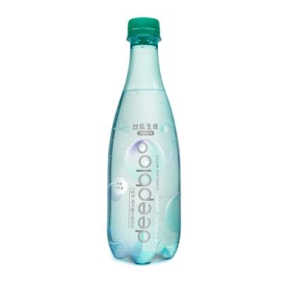 台鹽deepbloo 純沛海洋離子氣泡水(500mlx24入)