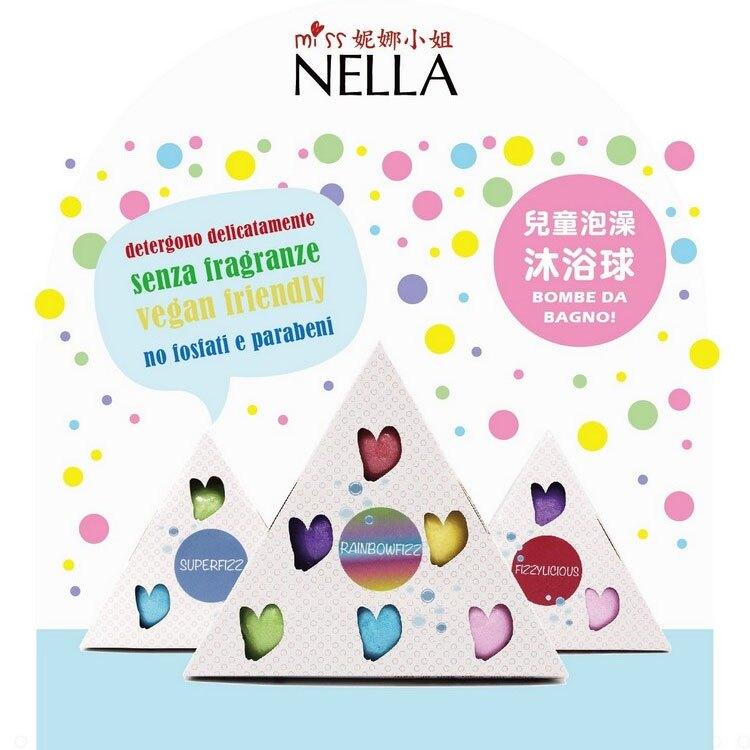 英國【Miss Nella】妮娜小姐 兒童泡澡沐浴球 (祕密花園3入組)