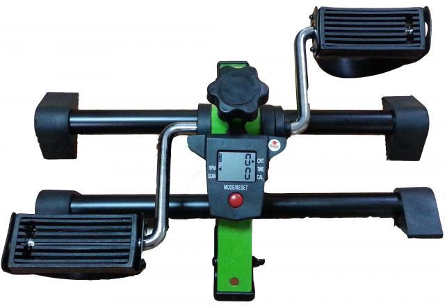 運動復健腳踏器/ 單車腳踏器/ 室內腳踏車-附多功能顯示器(可折疊) 富士康