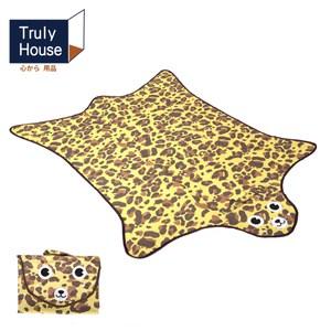 【Truly House】可愛動物野餐墊/地墊/防潮墊(一般款)橘色