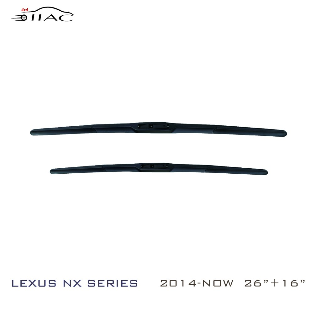 【IIAC車業】Lexus NX Series 三節式雨刷 台灣現貨